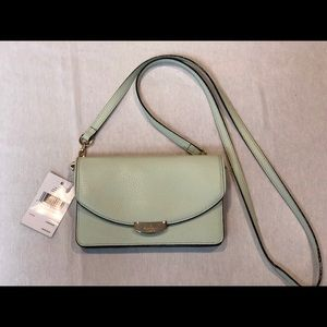 Kate Spade Valli shoulderbag clutch in mint splash